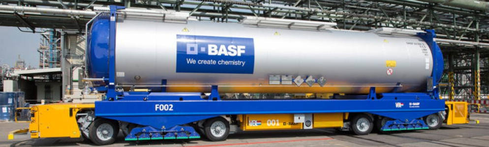 VDL AGV at BASF (Update: Report in 'Tagesthemen')