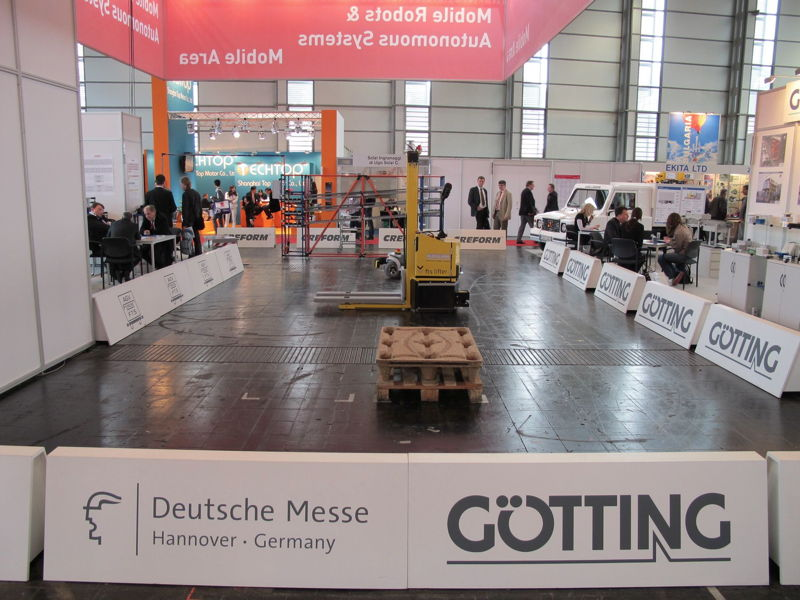 Outlet Hannover hannover messe international 2011 götting kg