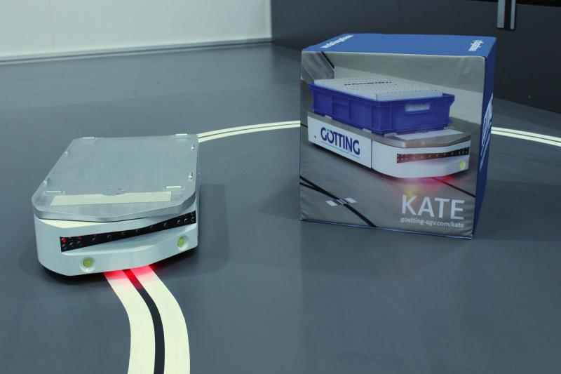 Omnidirectional Automated Guided Vehicle G 246 Tting Kg