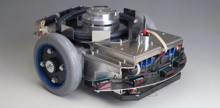 Photo of the KATE drive-steering module
