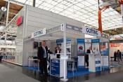 Mr. Meyer, Technical Sales, in front of Stand F39 in Hall 27