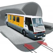 People Mover in the Eurotunnel