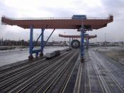 Crane with Transponder Positioning
