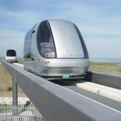 ULTra Vehicle at Heathrow airport