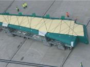 Inductively-guided, heavy-duty AGV transports vast aircraft wings, Airbus UK