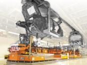 Inductively-guided AGVs, DÜRR Automation