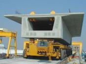 Optical, track-guided heavy goods transporter, Kirow, Leipzig
