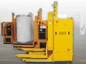 Laser-guided AGVs, E&K Automation, Rosengarten