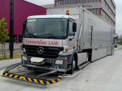 Trucks as Automated Guided Vehicles (AGV) in industrial usage